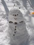 しな雪だるま.JPG
